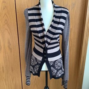 Anthropologie Liamolly New Orleans Cardigan Sz-S